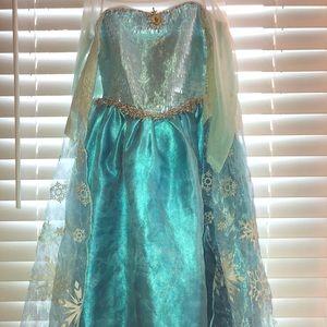 Disney Frozen Elsa Costume Dress Girls 5/6